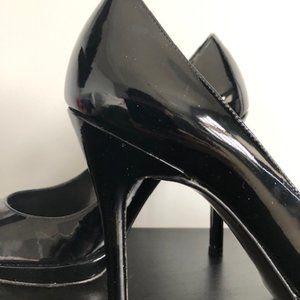 Stuart Weitzman Shoes - STUART WEITZMAN BLACK PATENT PUMPS